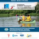 Plakat 18. Otwarty Maraton Kajakowy WARTA CHALLENGE 2019, Rogalinek-Oborniki, 14-16 czerwca 2019r.