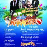 Plakat Hallo Wakacje, 28 czerwca 2019r., Buk