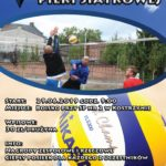 Plakat Turniej Trójek Piłki Siatkowej, 29.06.2019r., godz. 9:00 w Kostrzynie