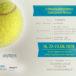 Plakat V Otwarte Mistrzostwa Kostrzyna w Tenisie, 16,22-23.06.2019r.