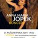Plakat Anna Maria Jopek - Koncert, 25 października 2019r., Hala widowiskowo-sportowa Mosina, godz. 19:00