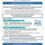 Zaproszenie Warsztaty Czas na Seniorach w Komornikach, 15-16 lipca 219r., Sala sesyjna Urzędu Gminy Komorniki