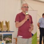 Uroczystość wręczenia Certyfikatu Rekomendowanej Atrakcji Turystycznej Powiatu Poznańskiego 2019 roku w Parku Dzieje, Murowana Goślina