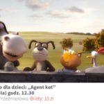 Plakat zielonego kina dla dzieci na 28 lipca w Przeźmierowie