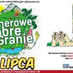 Plakat na wydarzenie rozrywkowe w Puszczykowie na 21 lipca 2019