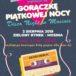 Plakat na wydarzenie muzyczne w Mosinie na 2 sierpnia 2019
