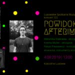 Plakat koncertu muzycznego w Lusowie na 4 sierpnia 2019