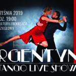 Plakat na widowisko taneczne na 21 września 2019
