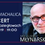 Plakat na koncert w Koziegłowach na 4 października 2019