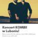 Plakat na koncert muzyczny w Luboniu na 6 października 2019