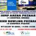 Plakat zajęć sportowych w Buku na sierpień 2019