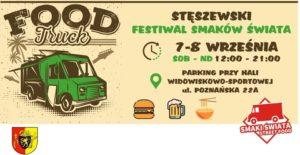 Festiwal food trucków od 7 do 8 września w Stęszewie