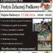 Plakat na zawody konne w Raduszynie na 17 sierpnia 2019