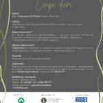 Plakat na Naturalia w Szreniawie od 13 do 15 września 2019
