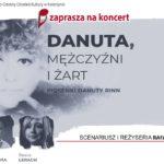 Plakat na koncert muzyczny w Kostrzynie