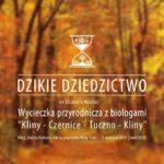 Plakat wycieczki przyrodniczej na 29 września 2019 w Klinach