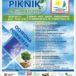 Plakat na piknik ekologiczny w Pobiedziskach na 28 września 2019
