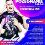 Plakat na pożegnania lata w Tarnowie Podgórnym na 21 września 2019