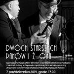 Plakat na spektakl muzyczny na 7 października 2019 w Konarzewie