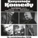 Plakat na koncert pamięci Komedy w swarzędzu na 24 października 2019
