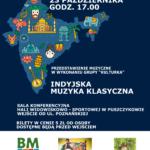 Plakat na spotkania dzieci z teatrem na 23 października 2019 w Puszczykowie