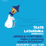 Plakat na spektakl teatralny w Suchym Lesie na 28 września 2019