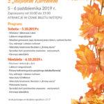 Plakat na Festiwal Dyni od 5 do 6 października 2019 w Deli Parku
