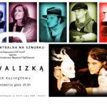 Plakat na spektakl teatralny w Koziegłowach na 19 września 2019