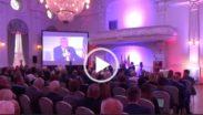 Kadr z filmu z debaty o Powstaniu Wielkopolskim 2018