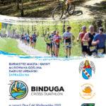 Plakat na Binduga Cross Duathlon w Murowanej Goślinie na 27 października 2019