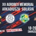 Plakat na XV Memorial Gołasia w Zalasewie