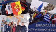 Kadr filmu z Festynu Europafest w Hanowerze 2019