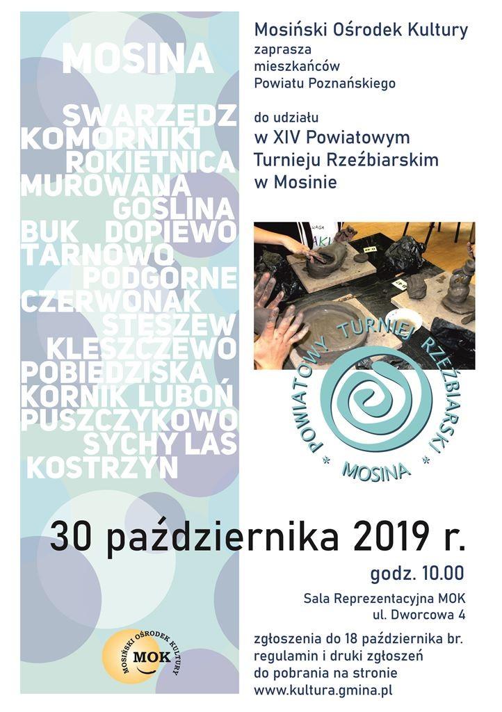 Turniej Rzeźbiarski w Mosinie
