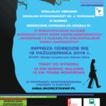 Plakat rajdu po WPN na 18 października z Osowej Góry