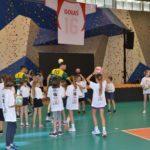 Warsztaty siatkarskie dla dzieci podczas Memoriału Gołasia w Swarzędzu Zalasewie