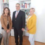 Uczestnicy wymiany samorządowej region Hanower - powiat poznański