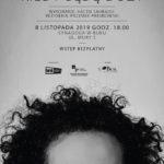 Plakat na spektakl teatralny na 8 listopada 2019 w Buku