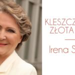 Plakat na spotkanie z Ireną Santor w Kleszczewie