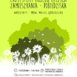 Plakat na warsztaty przyrodnicze w Pobiedziskach na 7 października 2019