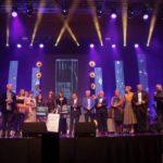Uczestnicy Festiwalu Piosenki Polskiej 2019 w Luboniu