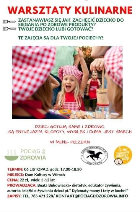 Zajęcia kulinarne dla dzieci