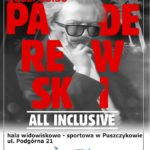 Plakat na widowisko koncertowe w Puszczykowie na 7 listopada 2019