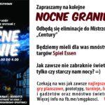 Plakat na zajęcia gier planszowych na 8 listopada 2019 w Puszczykowie