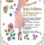 Plakat na zajęcia baletowe na 8 lutego 2019 w Puszczykowie