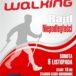 Plakat na rajd nordic walking w Komornikach na 9 listopada 2019