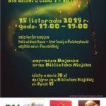 Plakat na zabawę Andrzejkową na 15 listopada 2019 w Puszczykowie