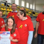 Uczestnicy osiemnastego powiatowego turnieju bocci w Dopiewie