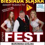 Plakat na Biesiadę Śląską w Murowanej Goślinie na 23 listopada 2019
