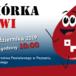 Plakat zbiórki krwi na 14 października 2019 w Starostwie
