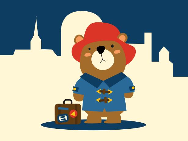 Paddington niedźwiadek